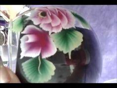 Pintura em Vidro com One Stroke by LUCIANA RANGEL.