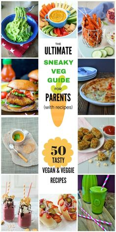 Top tips and recipes to help parents get sneaky with vegetables for healthy children. Vegan Dinner Recipes, Veggie Recipes, Baby Food Recipes, New Recipes, Vegetarian Recipes, Healthy Recipes, Healthy Cake, Vegetarian Dinners, Vegan