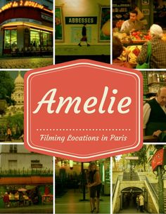 Amelie filming locations in Montmartre, Paris