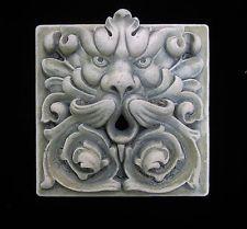 GARGOYLE   GREENMAN   GARDEN  FOUNTAIN  ARTS & CRAFTS  GOTHIC   ELLISON TILE