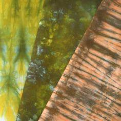 Algae dyed fabric