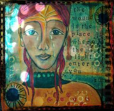by Bebe Butler  #art #journal