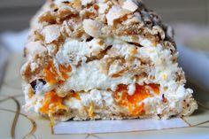 Budapestrulle med hasselnötter och mandariner