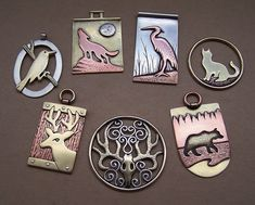 Mixed metal jewelry 4 by Astalo.deviantart.com on @deviantART