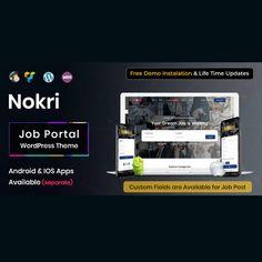 Job Website, Job Portal, Instagram Widget, Online Support, Job Posting, Kids Store, Blogger Templates, Premium Wordpress Themes, Board