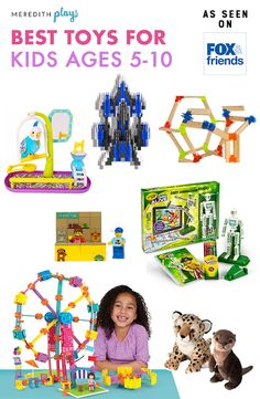 Meredith Plays: The Best Toys and Games for Ages 5-10