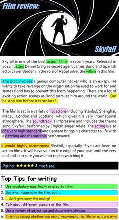 Skyfall film review | LearnEnglishTeens