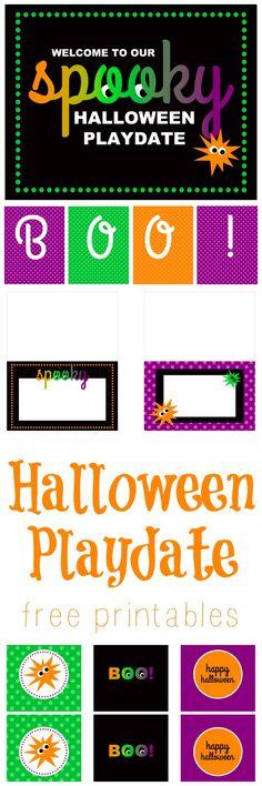 halloween playdate ideas