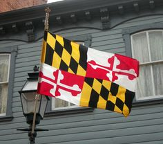 Maryland's flag - click to see all state flags