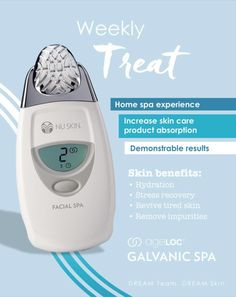 Galvanic Body Spa, Ageloc Galvanic Spa, Glowy Skin, Home Spa, Spa Treatments, Beauty Care, Beauty Box, Beauty Secrets, Anti Aging Skin Care