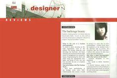 DESIGNER MODE FASHION WEEK MAGAZINE TAGS SHY AS - THE BACKSTAGE BEAUTY