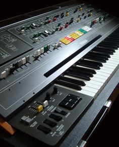 Yamaha_CS80  The ultimate performance instrument. KSR does the business with these, and if you've never played one or even heard one in the flesh, then prepare to be blown away...it's simply the most POWERFUL, RICH and UNIQUE sound, with all the complex intermodulations and POLYPHONIC AFTERTOUCH, that you can imagine. The sound is always 'breathing', and therein lies it's strength.