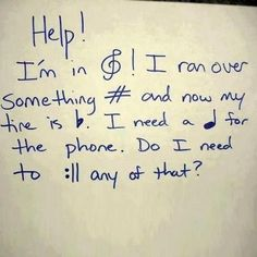 A new form of short-hand...musicians only. ;)