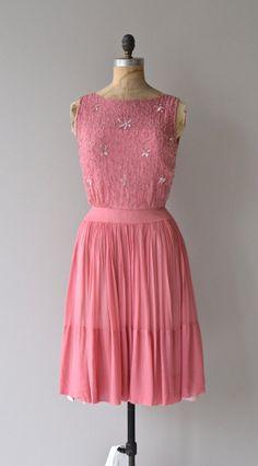 Love Revival dress silk chiffon 1950s dress by DearGolden