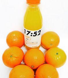 Il a fallu 7 bonnes oranges de notre marque Mon Marché Plaisir pour concocter ce fameux jus 17:52 ! #LeJusLePlusFrais #Intermarché #Fruits