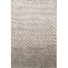 Pasargad Soho Silk Collection Grey Rug - 6' x 9'
