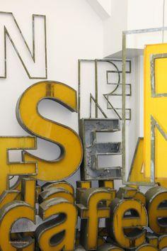 Yellow Typography