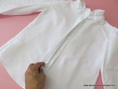 www.decosturasyotrascosas.com Como hacer una tapeta para botonadura oculta