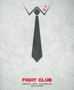Minimalist 'Fight Club' Poster