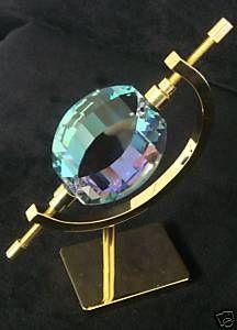 38mm AB Swarovski Energy Gate View Lead Crystal Prism Feng Shui Sun Catcher New | eBay