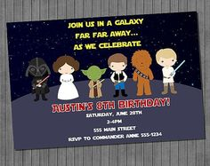 Delightful Browse Unique Items From CopalaDesigns On Etsy, A Global Marketplace Of  Handmade, Vintage And · Star Wars InvitationsDigital ...