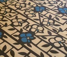"""""""Art Deco Orchids"""" pattern by Allison C. Beilke"""