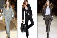Black / Chanel pantsuit/  Black handbag/Chanel