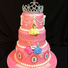 Princess cake.... Nothings too much for my princess Bella!!