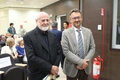 Il Direttore Generale Gianni Bonelli con l'artista Michelangelo Pistoletto