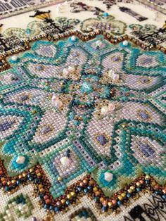 detail Vienna Mandala (helen_orlova) Tags: mandala chatelaine xstitching