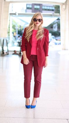 Wear To Work: 15 Fabulous Fall Outfits | http://www.corporatefashionista.com/