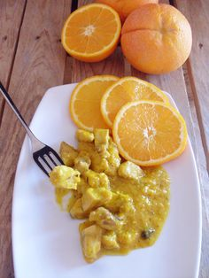 pesce spada con salsa d'arance