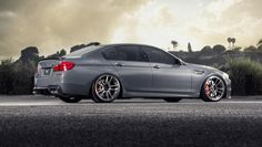 Vorsteiner has introduced a new styling program for the BMW M5. The kit features a carbon fiber front spoiler and rear diffuser. Aero Front Spoiler Vorstei