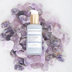 Regenerating Gel Cleanser Amethyst Daily Wash - Shop All White Lilies, Facial Cleanser, Amethyst, Perfume Bottles, Skincare, Luxury, Natural, Shopping, Beauty
