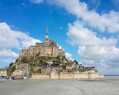 Mont Saint Michel Normandy Photograph, France Travel Photography Print by Tiffany Dawn Photography - Find me on Instagram & Facebook! @TiffanyDawnPhotography
