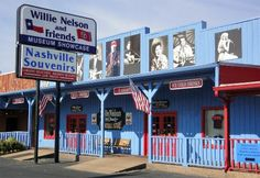Willie Nelson and Friends Museum. Nashville, Tennessee. July 24, 2014.