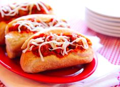 These easy meatball sub sandwiches are great for a fast lunch or tailgate snack!