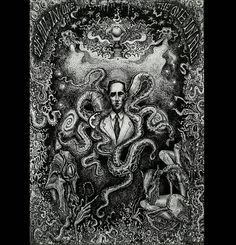 Lovecraftian horror by Claudia Gigliotti Like this kind of crazy? Follow @darkcomforts for more. ` ` ` ` ` #weirdartist #horrorjunkie #horror_sketches #grim #gothic #frightful #drawingink #disturbingart #darkside #darkartwork #darkartists #darkartandcraft #DarkArt #blackandwhite #darkcomforts #lovecraftianhorror #greatoldones #cthulhumythos #hplovecraft #linework #blackandwhite Lovecraftian Horror, Dark Artwork, Hp Lovecraft, Old Ones, Paranormal, Dark Side, Gothic, Weird, Arts And Crafts