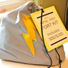 I'm pinning this specifically for the fort kit! Super hero Fort Kit, includes sheets, rope, clamps, flashlight and glowsticks Christmas Gifts For Boys, Handmade Christmas Gifts, Holiday Gifts, Christmas Diy, Homemade Christmas, Christmas Presents, Diy Gifts For 7 Year Old Boy, Christmas Birthday, Simple Christmas