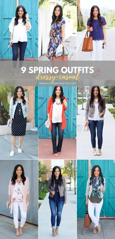 ff047535bc8 9 Dressy Casual Outfit Ideas for Spring Oufits Casual