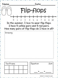 Addition Word Problems (JUNE) - Solve 21 addition word problems using a variety of strategies (number line, drawing, ten frame, and equation) Great for morning work, math centers, homework, or a mini lesson. (Kindergarten or first grade) $