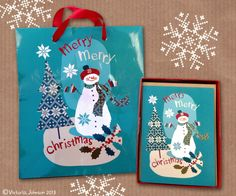Victoria Johnson Design Conversationally: Christmas Range for TJ Maxx by C.R. Gibson (and me!)