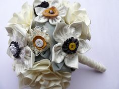 Pretty Flowers by Frances Bell on Etsy