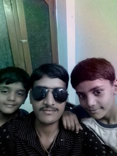 Awesome pic taking selfies with his nephew's by author