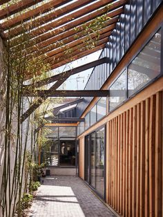 Gallery of Between Two Patios / OVERCODE architecture urbanism - 4