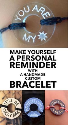 Design Your Own Handmade Bracelet at Life Token Cute Jewelry, Diy Jewelry, Jewelery, Jewelry Accessories, Jewelry Making, Jewelry Storage, Stamped Jewelry, Life Token Bracelet, My Intent Bracelet