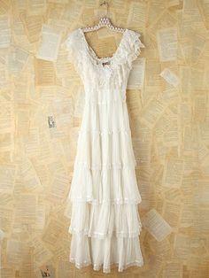 Vintage Gunne Sax Maxi Dress