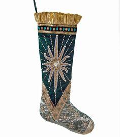 "Katherine's Collection Celestial Fairy Christmas Collection Set Two 24"" Celestial Christmas Stockings Free Ship"