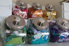NSM How to Organize Fabric Scraps | The Sewing Loft | Bloglovin'