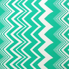 "Cabana Chevron Mint Techno Scuba Knit Fabric - A Girl Charlee Exclusive!  Large repeat varying size chevron stripe in white and deep mint green medium weight techno scuba knit.  Techno scuba is a double knit fabric of spun polyester and spandex blend that has a equal 4 way stretch, excellent drape, soft hand, and great recovery.  Pattern repeat is 34"" and pattern runs selvedge to selvedge, or across the width of the fabric, as pictured.  Equal stretch widthwise and lengthwise allow you to…"